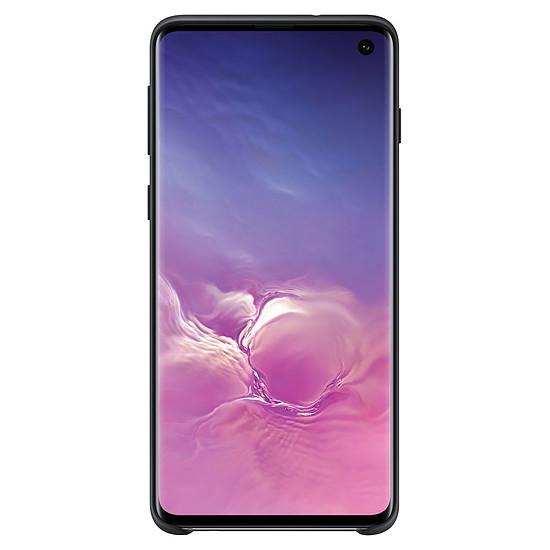 Coque et housse Samsung Coque silicone (noir) - Samsung Galaxy S10