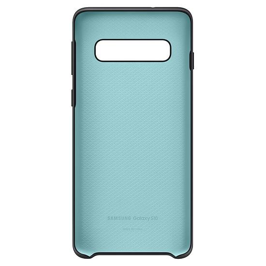 Coque et housse Samsung Coque silicone (noir) - Samsung Galaxy S10 - Autre vue