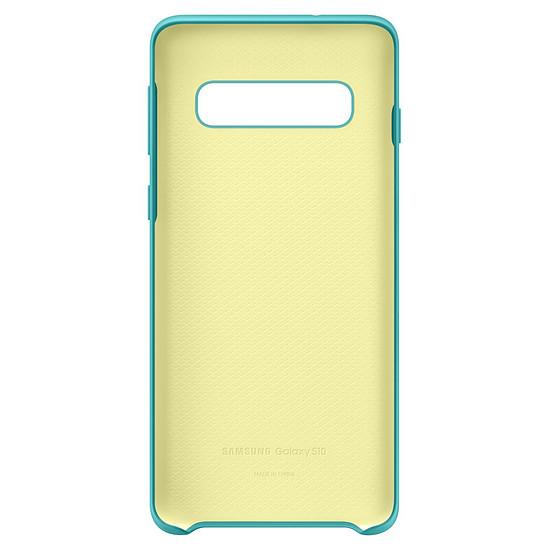 Coque et housse Samsung Coque silicone (vert) - Samsung Galaxy S10 - Autre vue