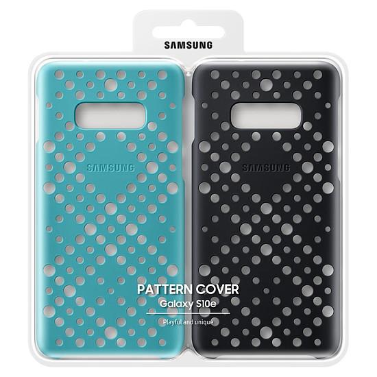 Coque et housse Samsung Coque perforée x2 (noir + vert) - Samsung Galaxy S10E