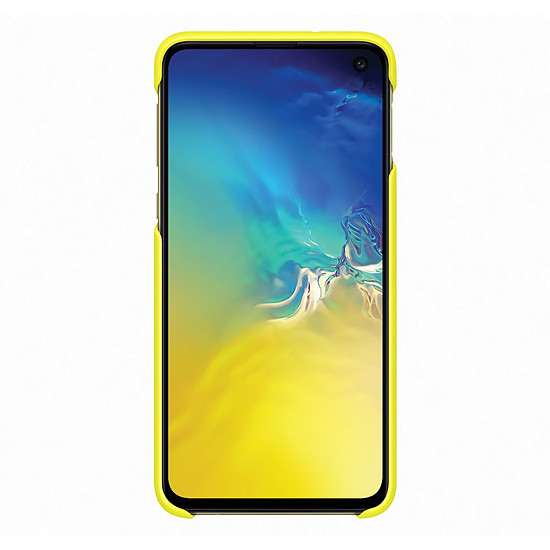 Coque et housse Samsung Coque perforée x2 (blanc + jaune) - Samsung Galaxy S10E - Autre vue