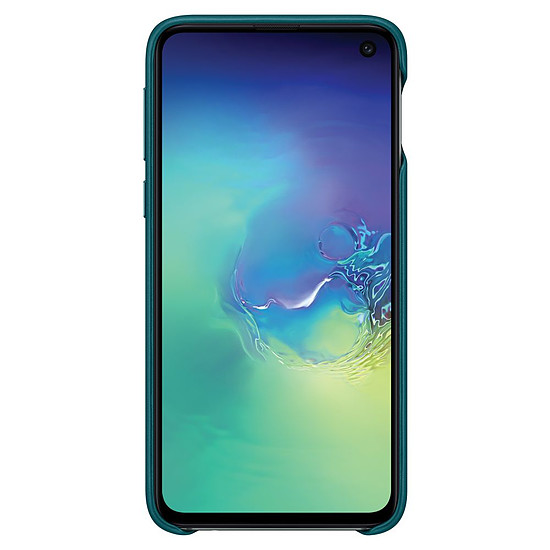 Coque et housse Samsung Coque cuir (vert) - Samsung Galaxy S10E