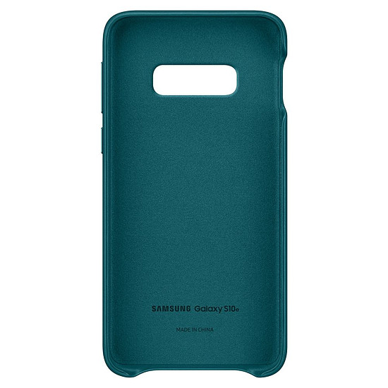 Coque et housse Samsung Coque cuir (vert) - Samsung Galaxy S10E - Autre vue