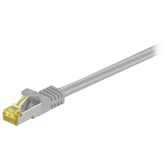 Câble RJ45 Cordon RJ45 catégorie 7 S/FTP 1 m (Gris)