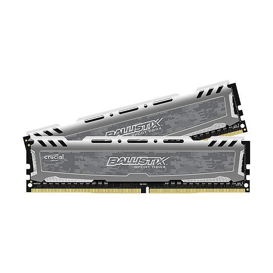Mémoire Ballistix Sport LT DDR4 2 x 8 Go 2400 MHz CAS 16 SR
