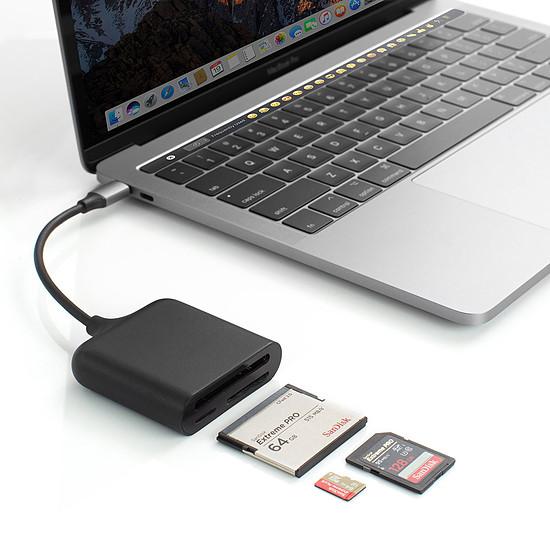 Lecteur de carte mémoire HyperDrive USB-C Pro Card Reader - Autre vue