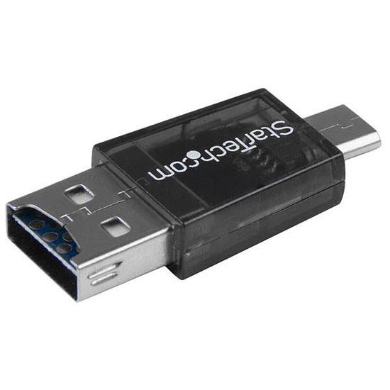 USB StarTech.com Adaptateur Micro SD vers Micro USB / USB OTG - Autre vue