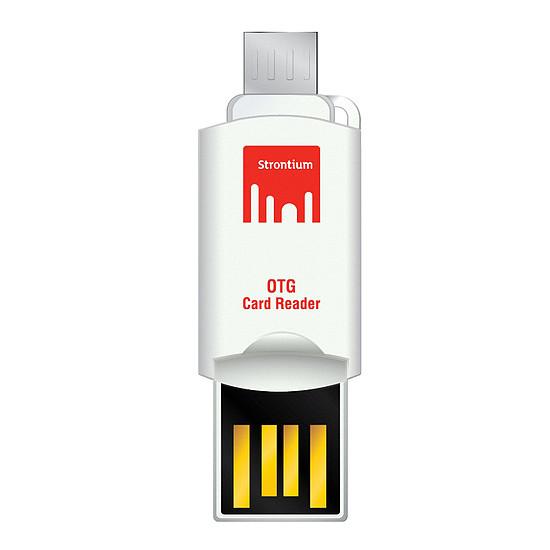 Lecteur de carte mémoire Strontium USB-OTG Card Reader