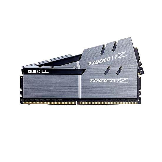 Mémoire G.Skill Trident Z Silver / Black DDR4 2 x 8 Go 3200 MHz CL16