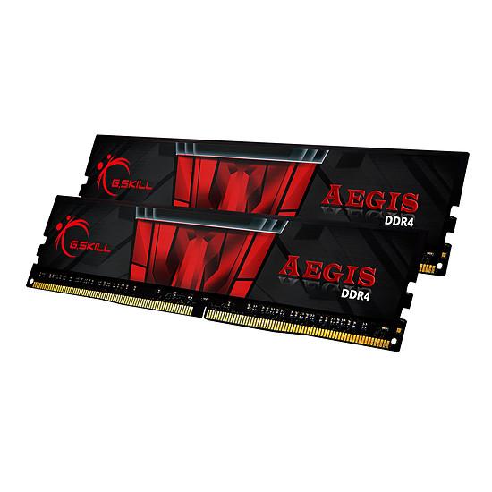 Mémoire G.Skill Aegis DDR4 2 x 8 Go 3000 MHz CAS 16