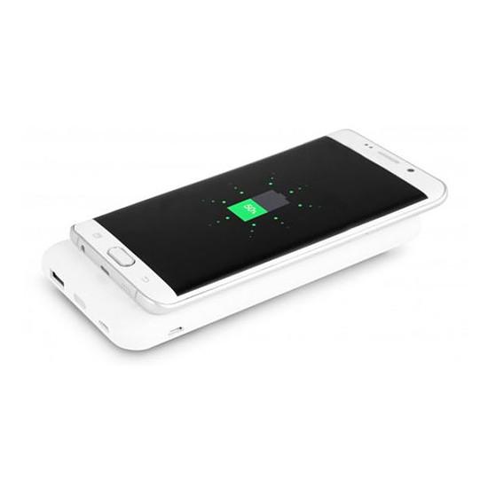 Batterie et powerbank Urban Factory Bigee Wireless (blanc) - 10000 mAh - Qi - Autre vue