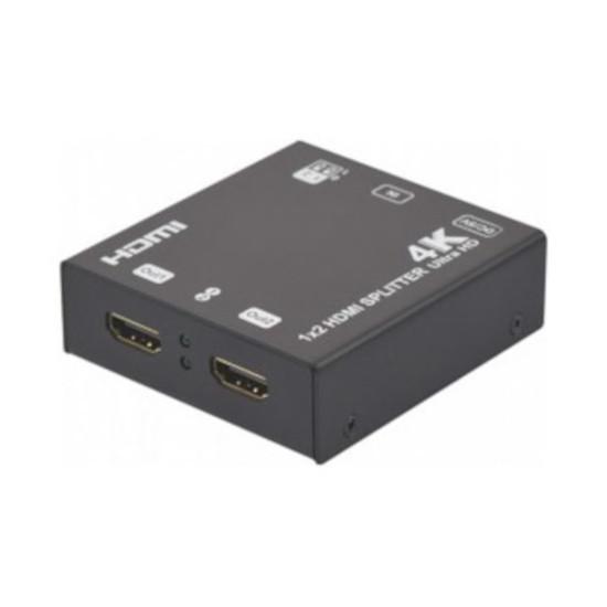 HDMI Splitter HDMI 2.0 4K & 3D (2 ports)