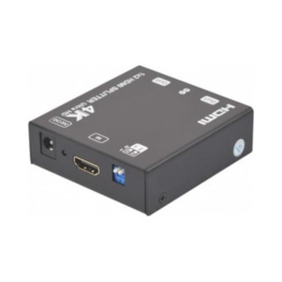 HDMI Splitter HDMI 2.0 4K & 3D (2 ports) - Autre vue