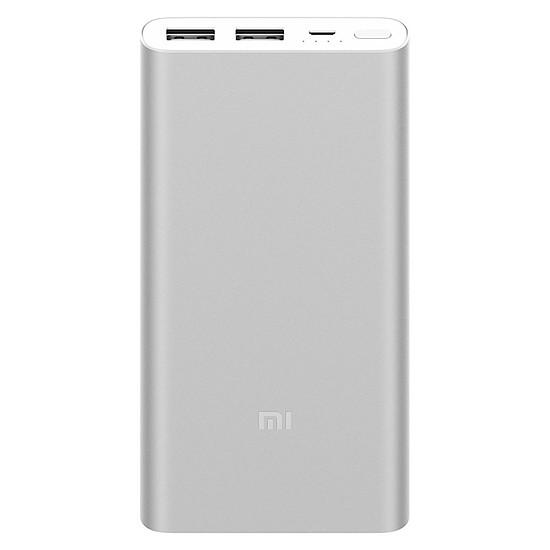 Batterie et powerbank Xiaomi Mi Power Bank 2S (argent) - 10000 mAh - Autre vue