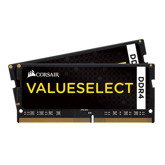 Mémoire Corsair ValueSelect SO-DIMM DDR4 2 x 16 Go 2400 MHz CAS 16