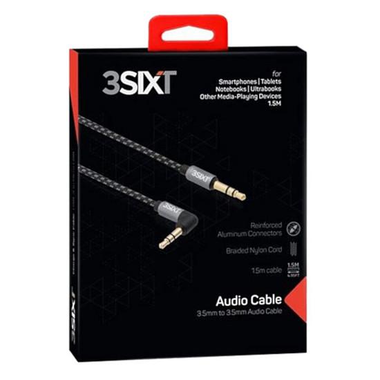 Câble audio Jack 3SIXT Câble Audio Jack 3.5 mm - Autre vue