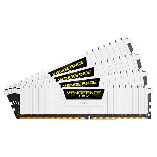 Mémoire Corsair Vengeance LPX White DDR4 4 x 8 Go 2666 MHz CAS 16