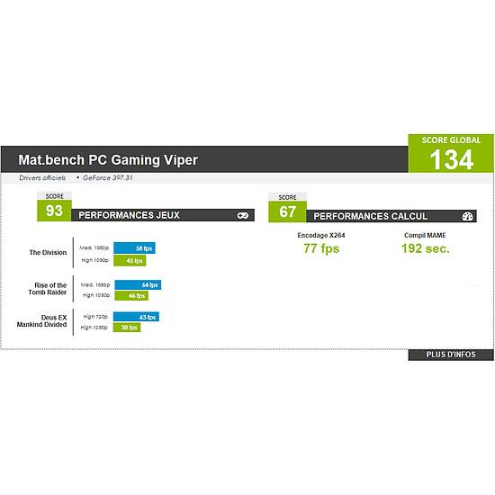 PC de bureau Materiel.net Viper [ Win10 - PC Gamer ] - Autre vue