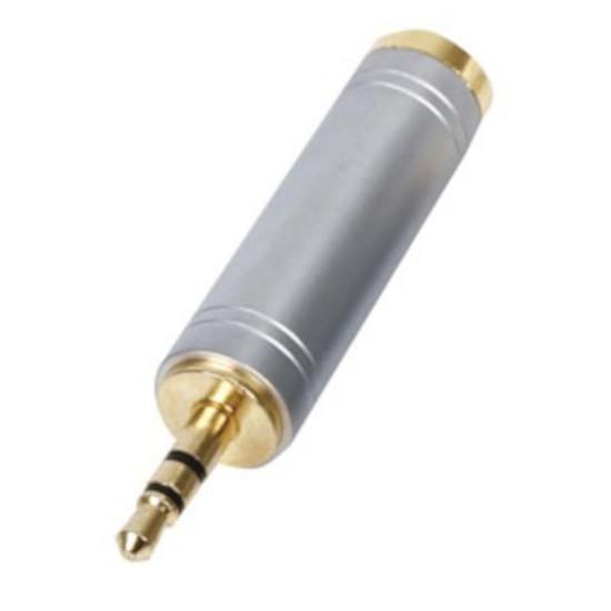 Câble audio Jack Adaptateur audio haute qualité Jack 3.5 mm mâle / 6.35 mm femelle