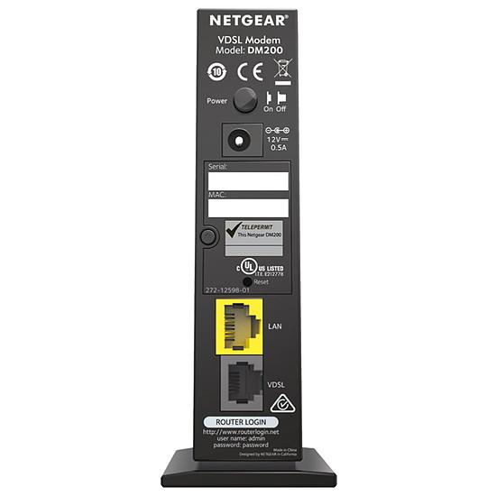 Routeur et modem Netgear DM200 - Modem VDSL / ADSL - Autre vue