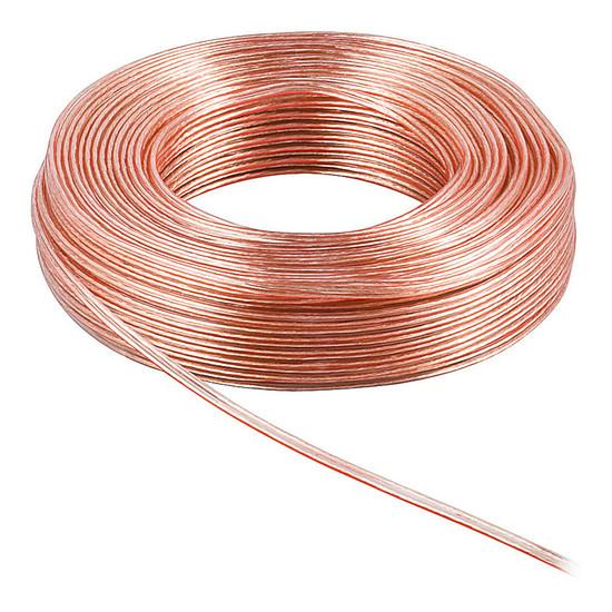 Câble d'enceintes Câble Haut-Parleur 2.5 mm² en cuivre OFC - rouleau de 10 mètres - Autre vue