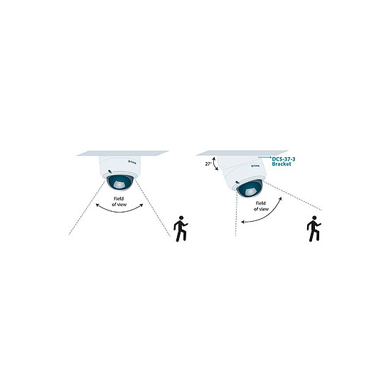Accessoires caméra IP D-Link - DCS-37-3 - Autre vue