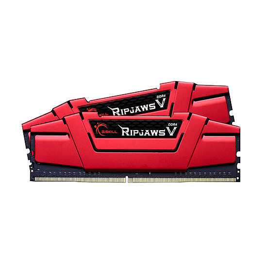 Mémoire G.Skill Ripjaws V Red - 2 x 4 Go (8 Go) - DDR4 2400 MHz - CL17