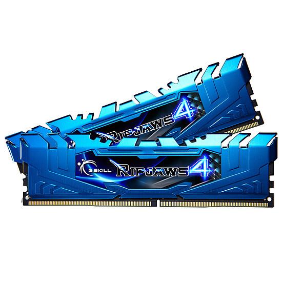 Mémoire G.Skill Ripjaws IV Blue DDR4 2 x 8 Go 3000 MHz CAS 15