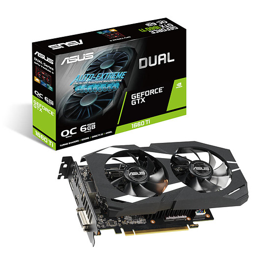 Carte graphique Asus GeForce GTX 1660 Ti Dual OC