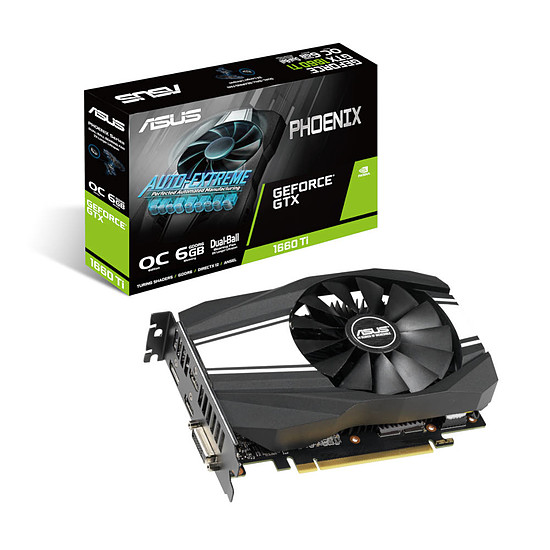 Carte graphique Asus GeForce GTX 1660 Ti Phoenix OC