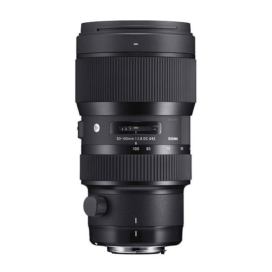 Objectif pour appareil photo Sigma 50-100 mm F1.8 DC HSM ART monture Nikon