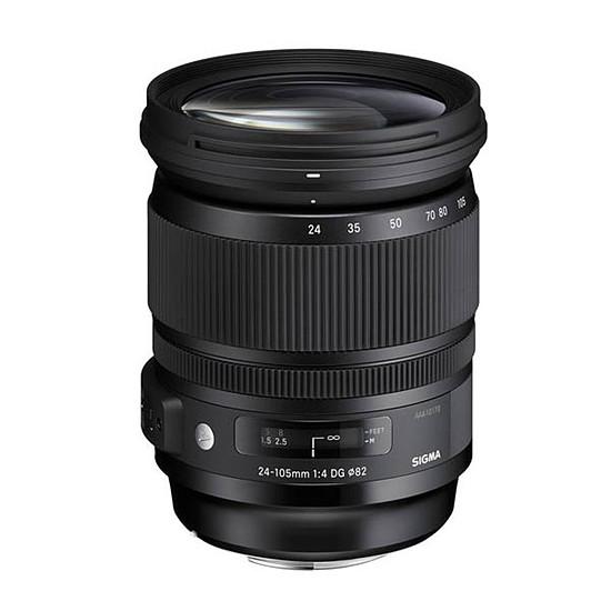 Objectif pour appareil photo SIGMA 24-105 mm F4 DG OS HSM monture Canon