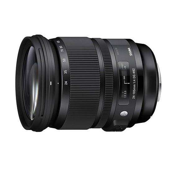 Objectif pour appareil photo SIGMA 24-105 mm F4 DG OS HSM monture Canon - Autre vue