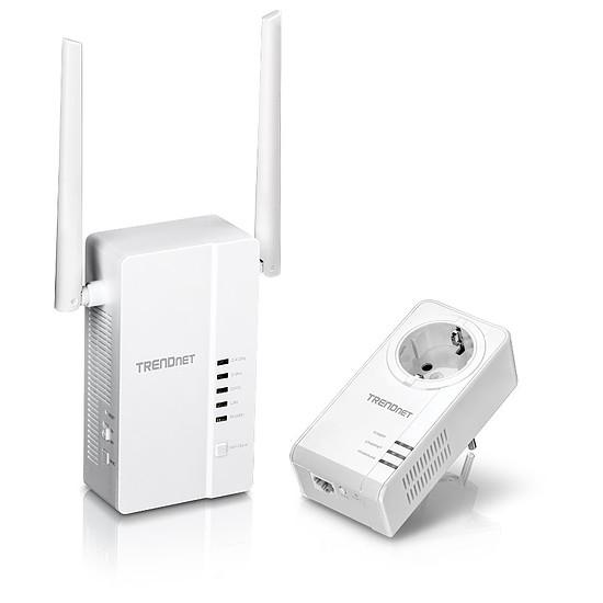 CPL TrendNET TPL-430APK - Pack CPL1000 + Wifi AC1200