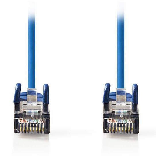 Câble RJ45 Nedis Câble RJ45 catégorie 5e SF/UTP 15 m (Bleu) - Autre vue