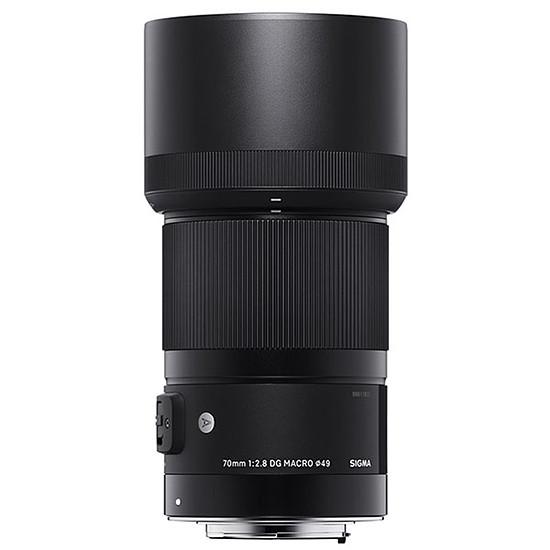 Objectif pour appareil photo SIGMA 70mm f/2.8 DG Macro Art monture Canon