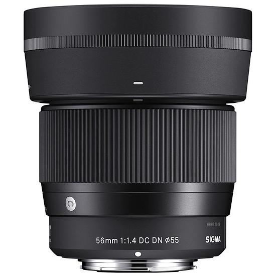 Objectif pour appareil photo SIGMA 56mm F1.4 DC DN Sony E