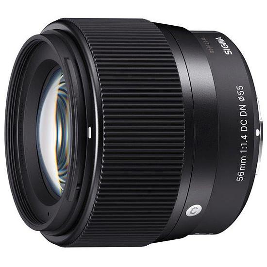 Objectif pour appareil photo SIGMA 56mm F1.4 DC DN Sony E - Autre vue