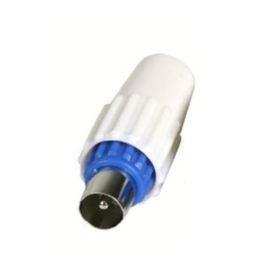 Câble Satellite Fiche coaxiale 9.52 mm mâle