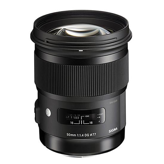 Objectif pour appareil photo Sigma 50mm F1,4 DG HSM ART monture Canon