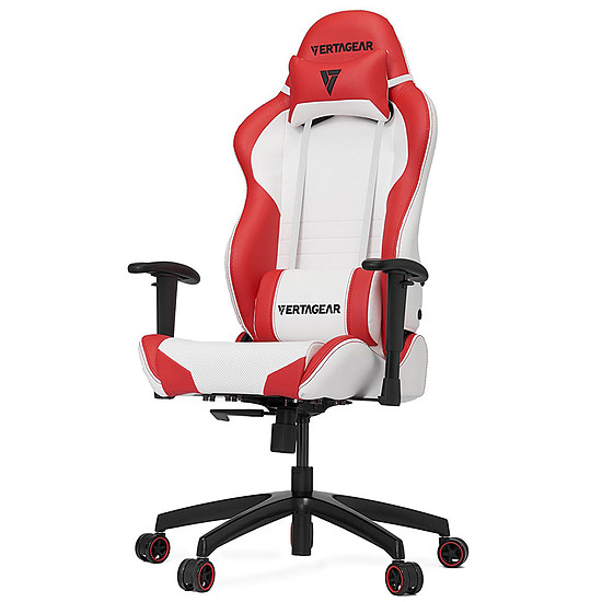 Fauteuil / Siège Gamer Vertagear S-Line SL2000 - Blanc/Rouge