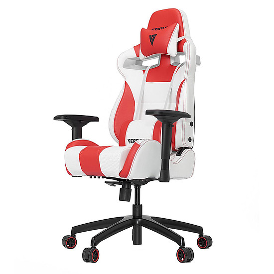 Fauteuil / Siège Gamer Vertagear S-Line SL4000 - Blanc/Rouge