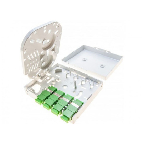 Câble fibre Optique Point de terminaison optique FTTH (4 x SC-APC) - Autre vue