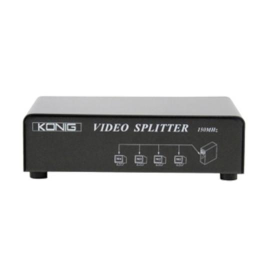 DVI Splitter VGA (1 entrée vers 4 sorties)
