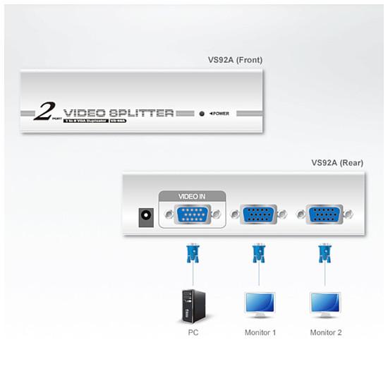 VGA Aten VS92A - Autre vue