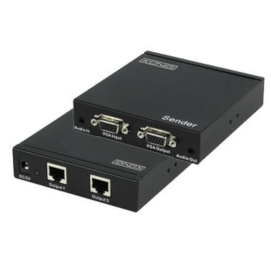 VGA Emetteur VGA + Audio sur câble Ethernet jusqu'à 300 m