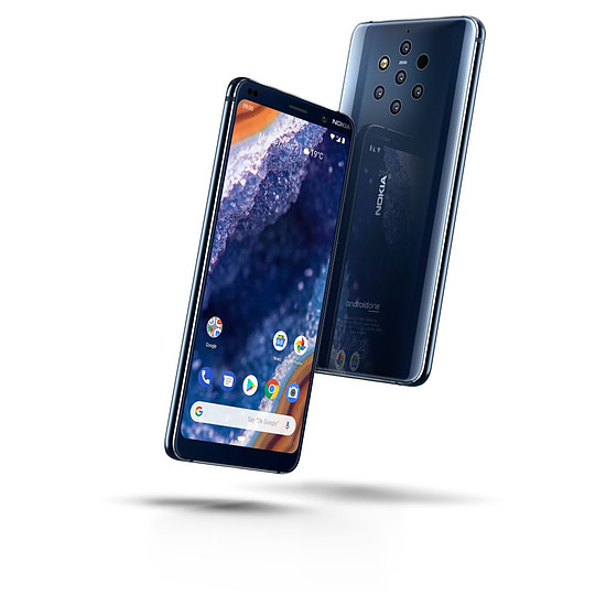 Smartphone et téléphone mobile Nokia 9 PureView (bleu) - 128 Go - 6 Go