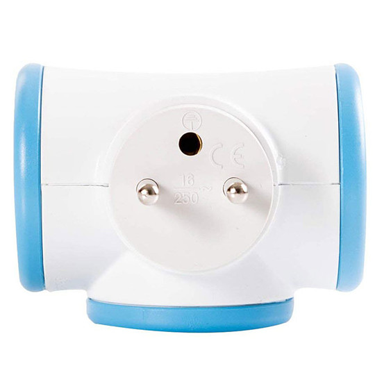 Multiprise Watt&Co Biplite (bleu)