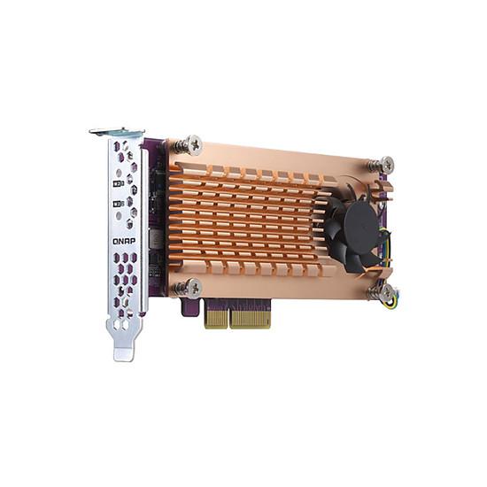 Accessoires serveur NAS QNAP QM2-2P-244A