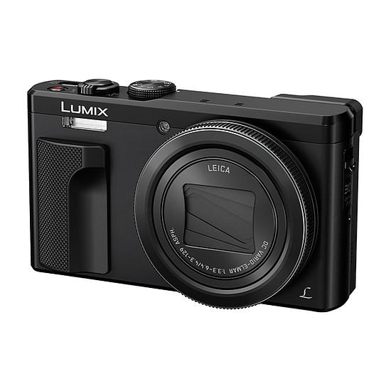 Appareil photo compact ou bridge Panasonic Lumix DMC-TZ80 Noir + Kingston Mobility Kit 16 GO + Etui Cullmann Malaga compact 400 Noir - Autre vue